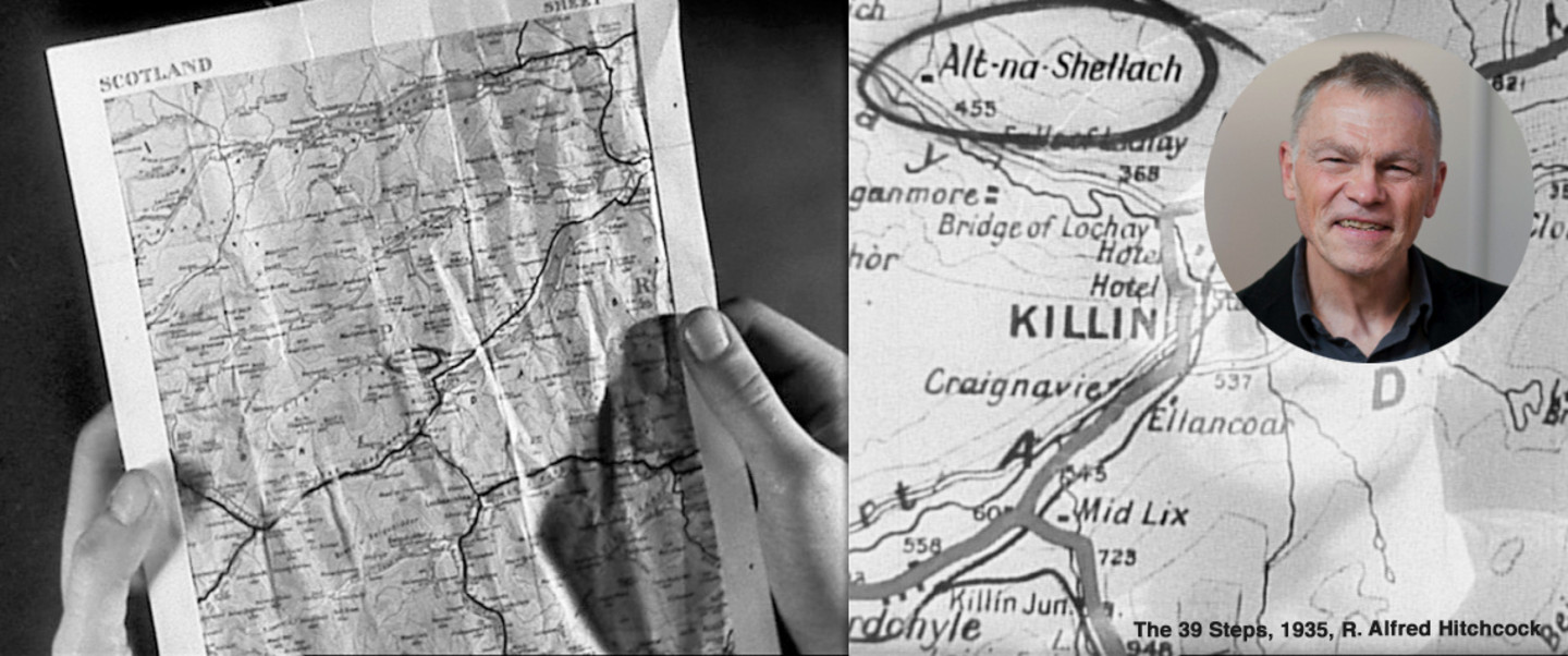 Tom Conley: A Map in a Movie
